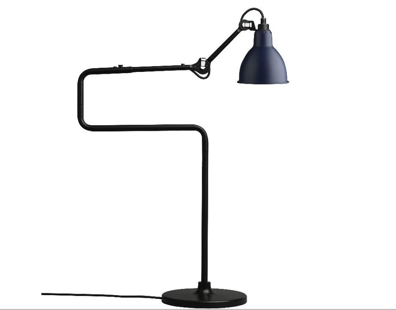 Lampe GRAS n°317 - Acier noir satin