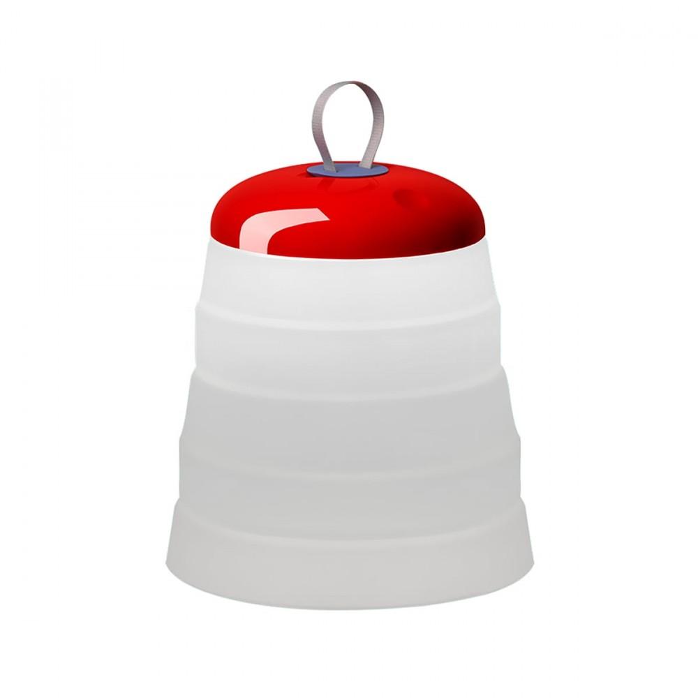 Cri-Cri Lampe sans fil LED Rouge - Foscarini