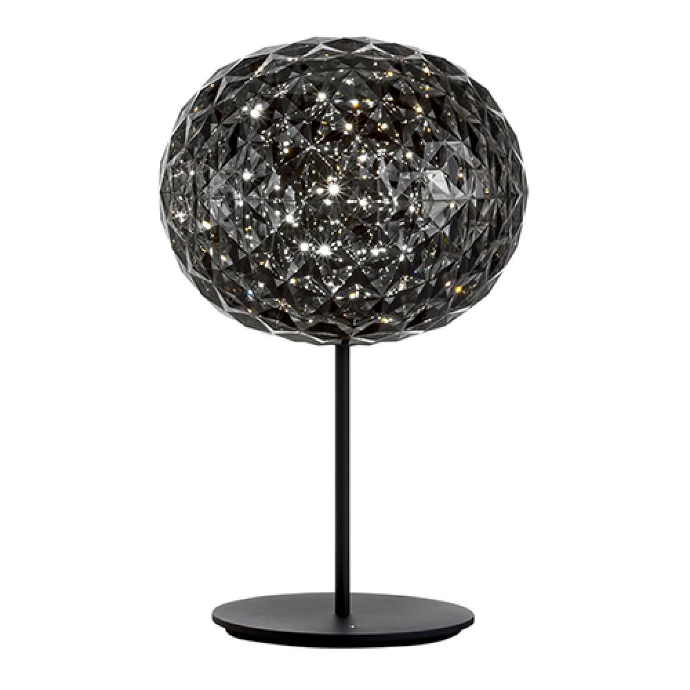 Planet lampe à poser LED fumé - Kartell