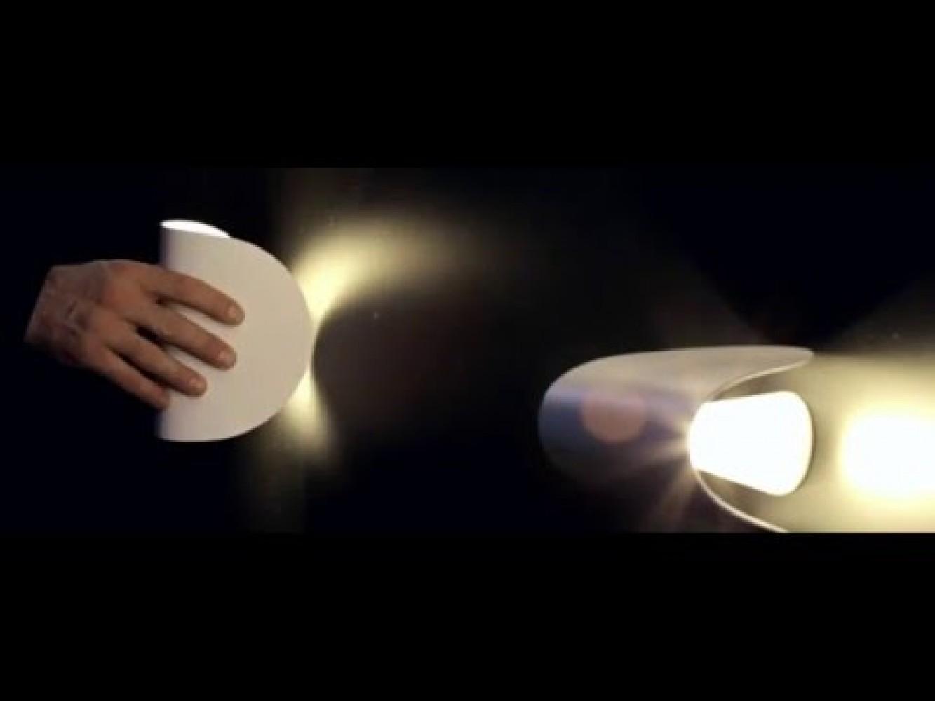Applique IO LED Blanc - Fontana Arte - Découvrez Luminaires d ...