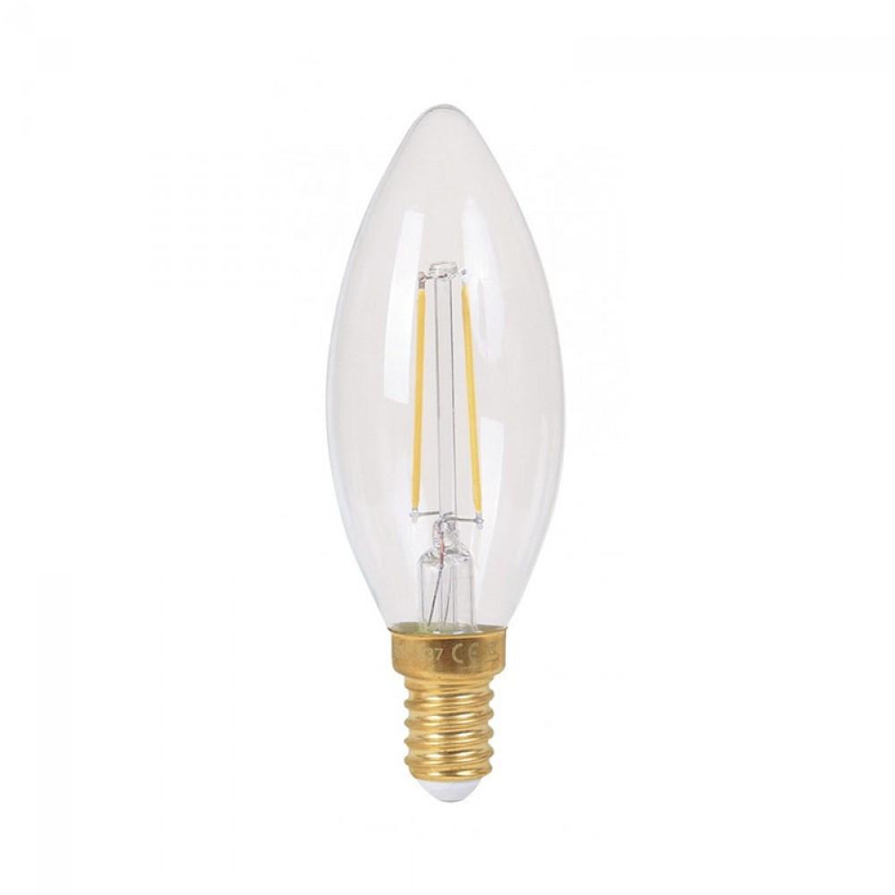 Ampoule flamme LED 4W claire