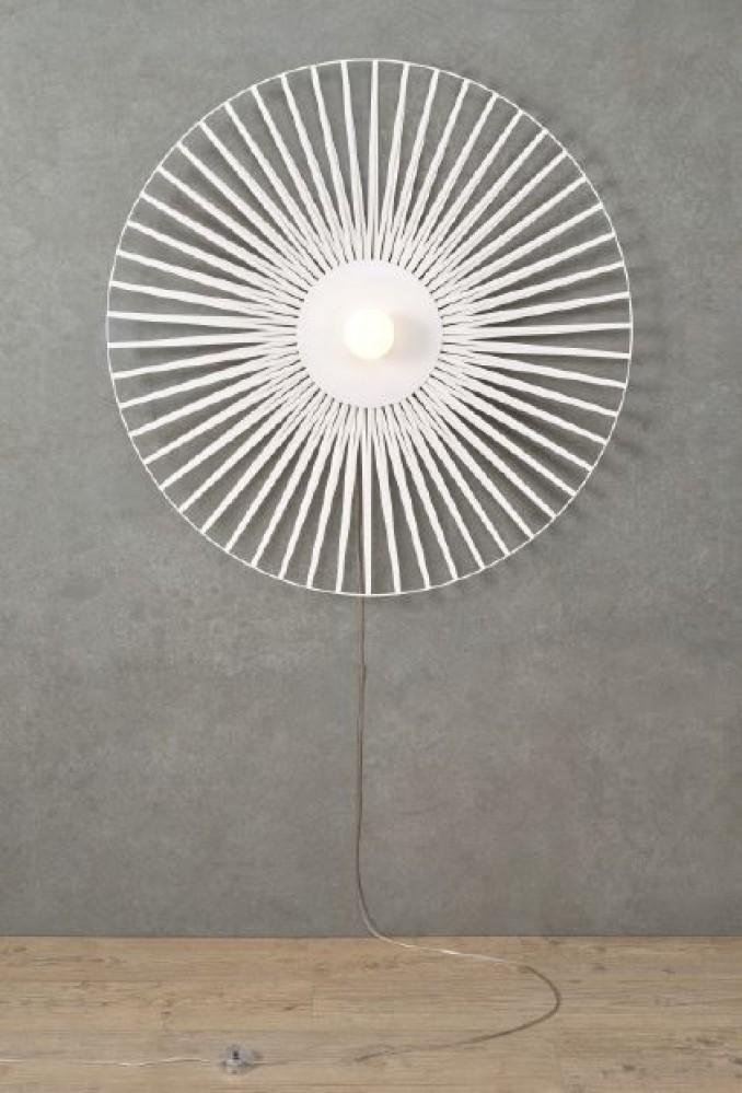 Applique Lisa Harpo - blanc - 1 lumière - D.40