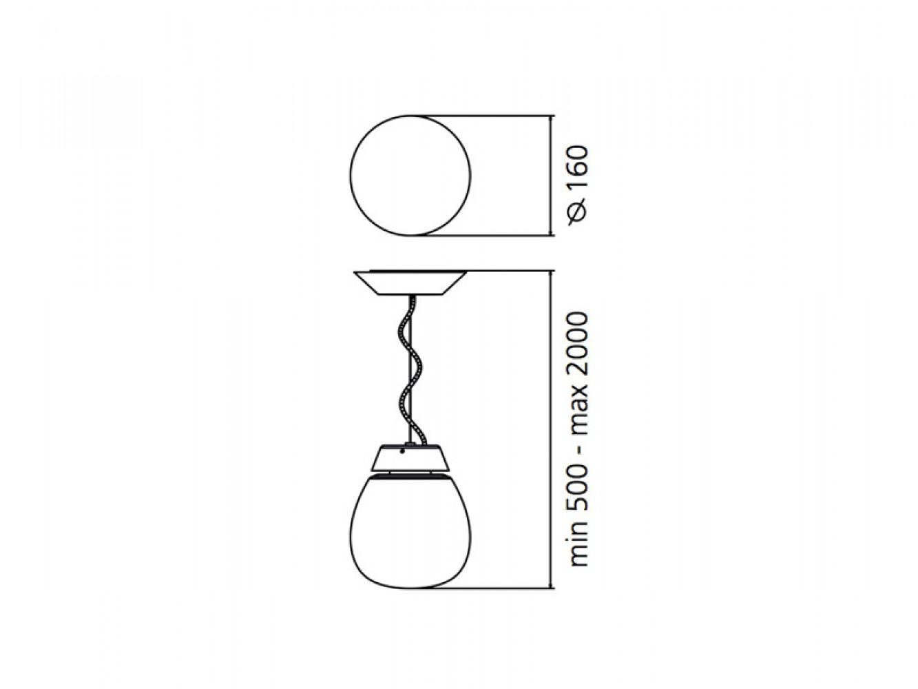 Empatia D.16 suspension - Artemide - Découvrez Luminaires ...