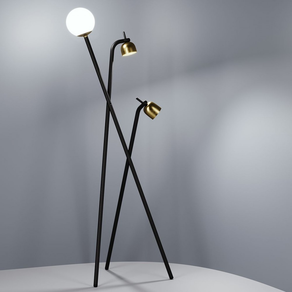 Tripod lampadaire - Fontana Arte