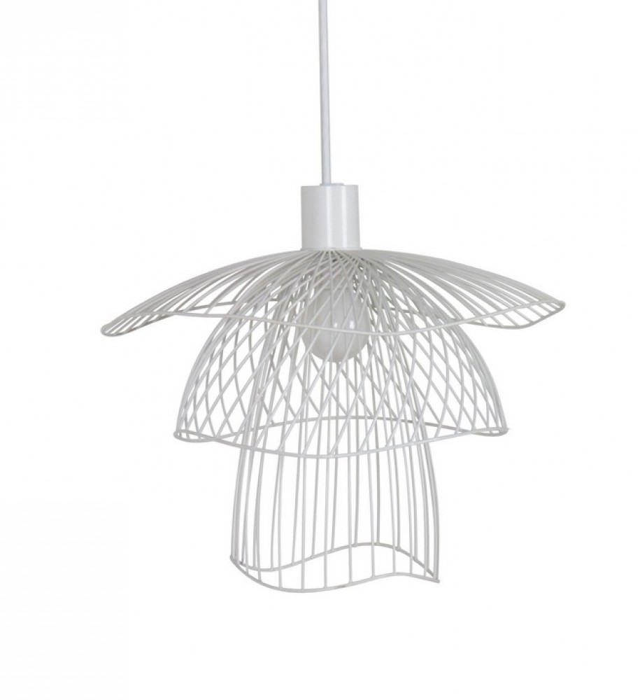 Suspension Papillon XS blanc D.25 - Forestier