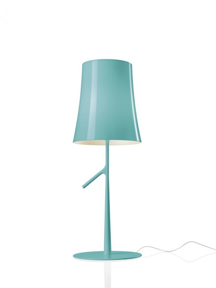 Birdie piccola lampe bleu turquoise H.49 - Foscarini