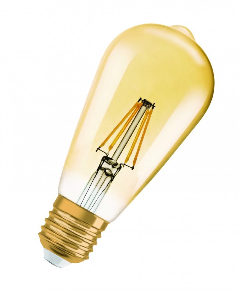 Ampoule LED Edisson ambre E27 6W 806 LM