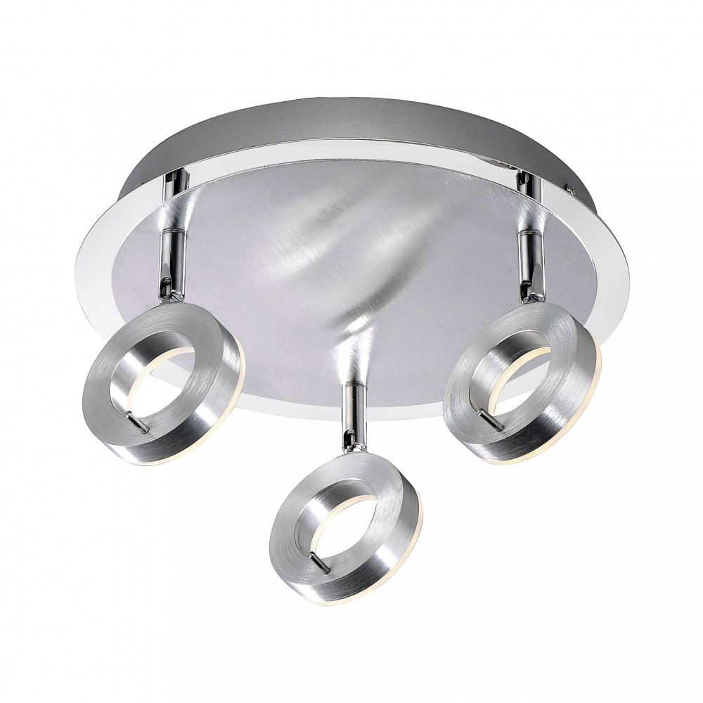 Plafonnier spots LED Bagno IP44 3x6W