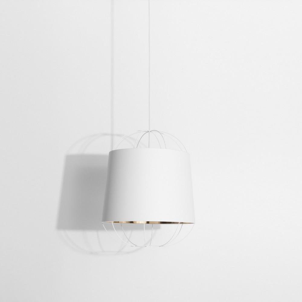 Lanterna D.47 suspension blanc & or