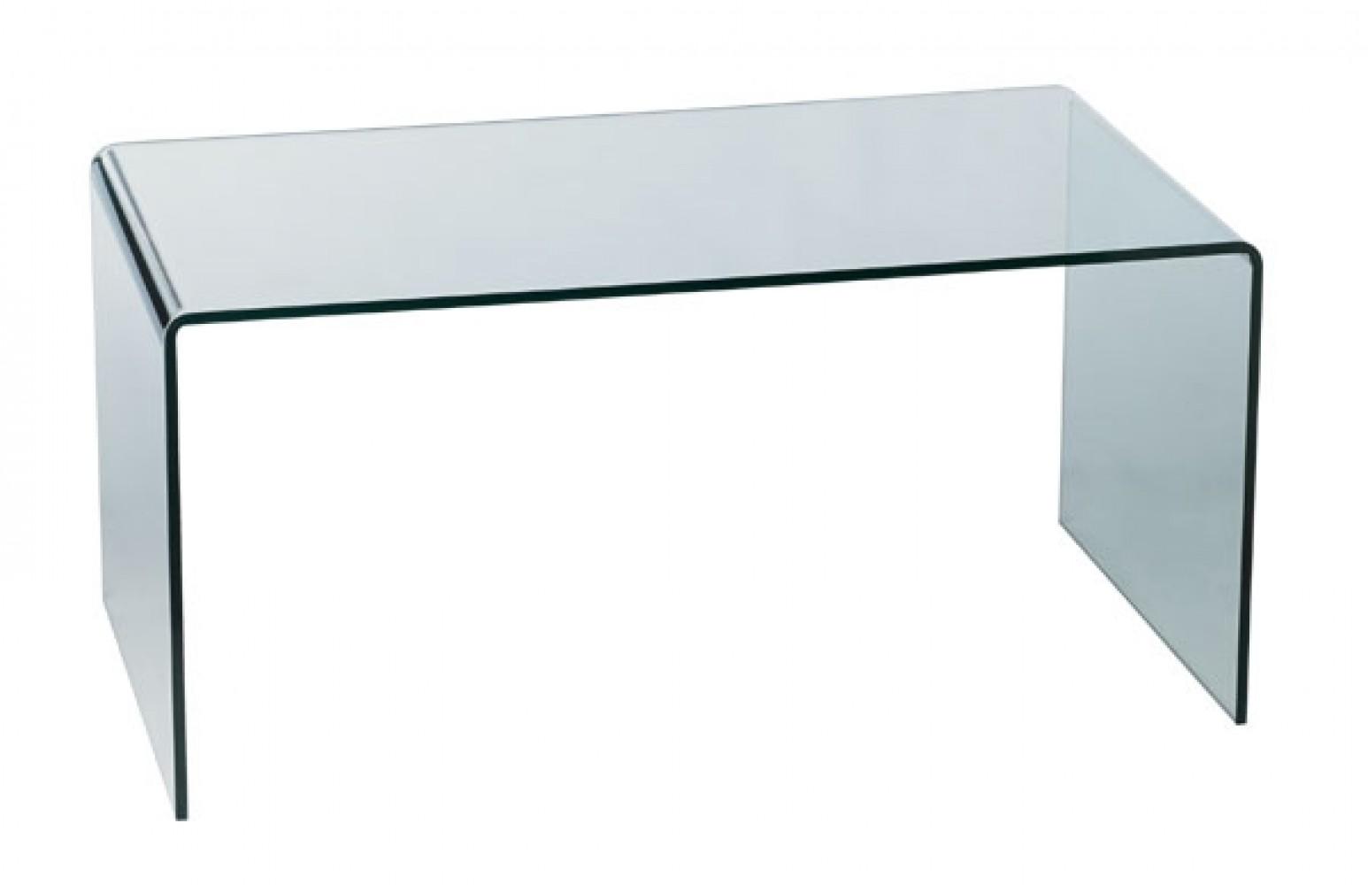 Table basse en verre trempé L.120