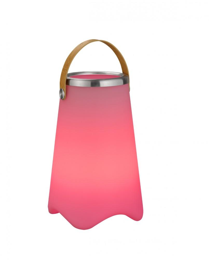Lampe mobile RGB avec saut à glace et enceinte