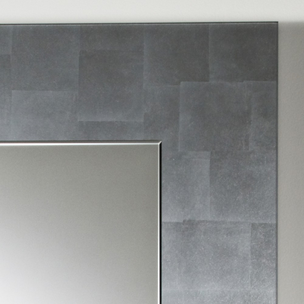 miroir moderne basic silver 80x105 cm d couvrez. Black Bedroom Furniture Sets. Home Design Ideas