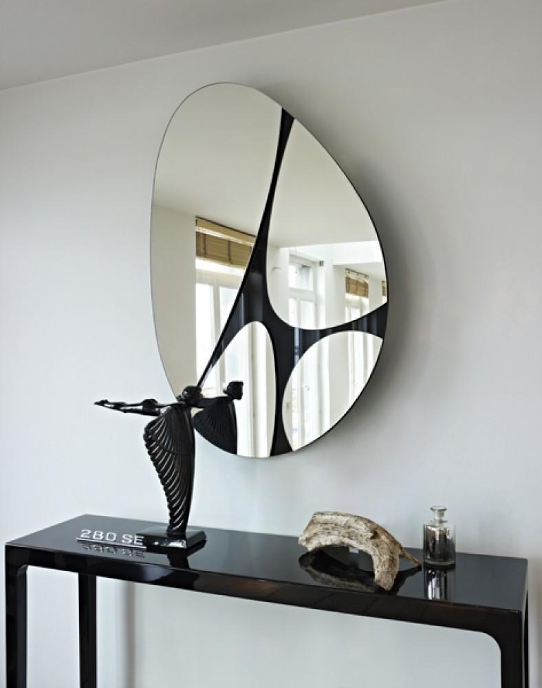 Miroir black miroir pivotant d couvrez mobiliers for Miroir pivotant