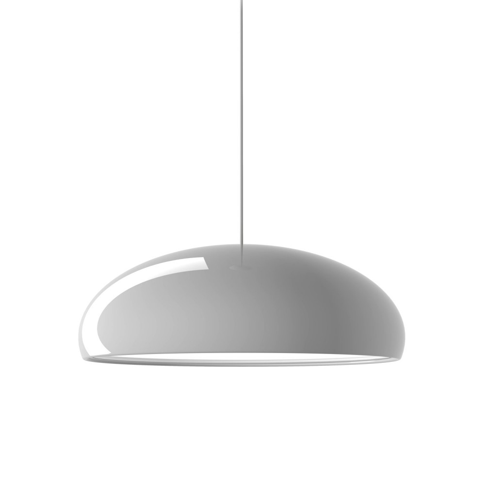 Pangen suspension blanc laqué - Fontana Arte