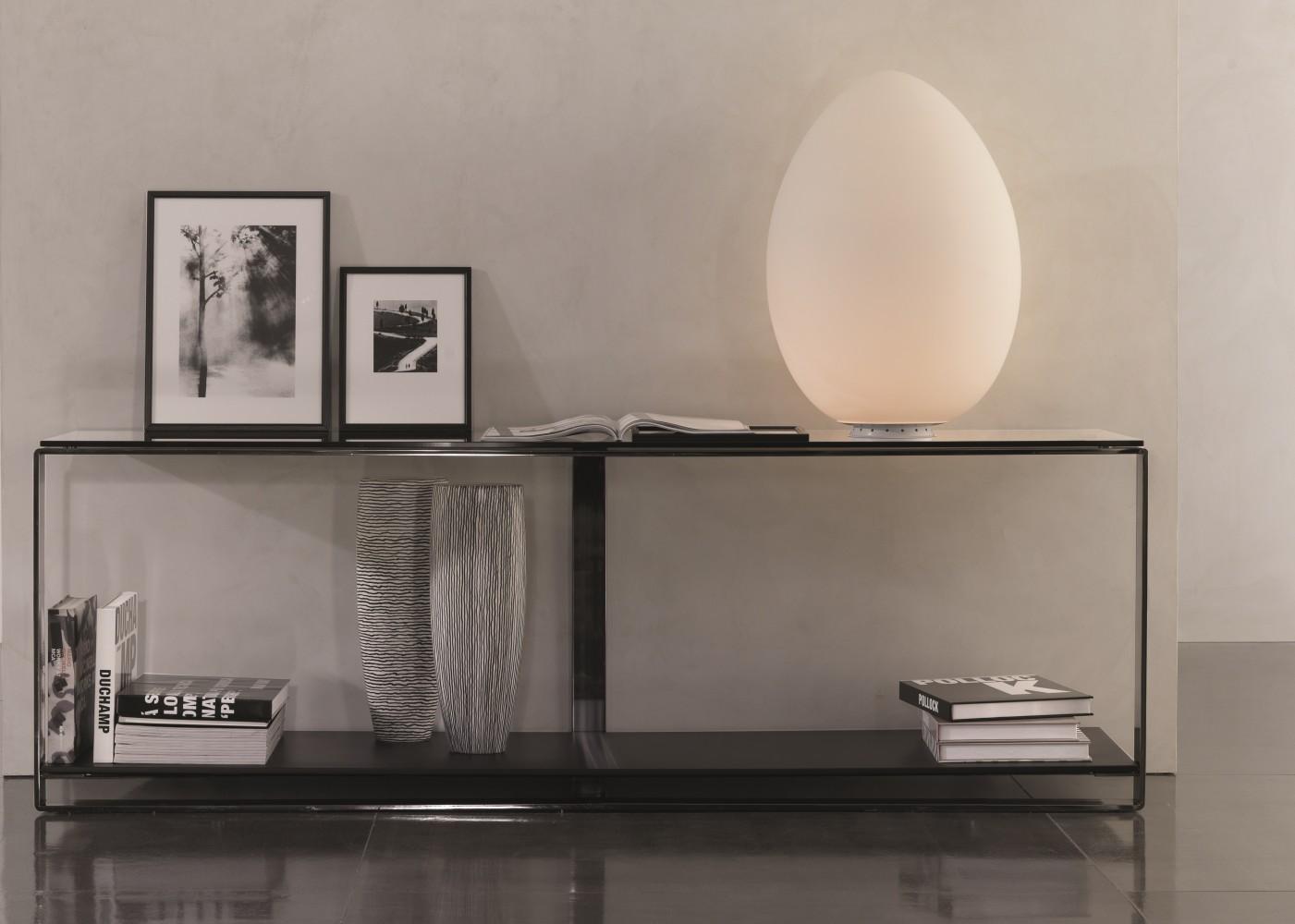 Uovo H.28 lampe à poser - Fontana Arte