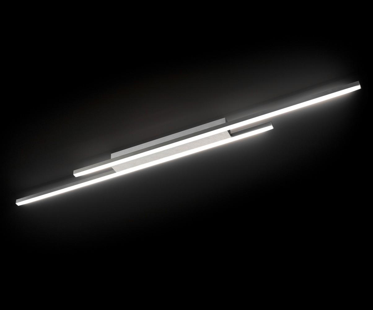 Plafonnier Forte LED 8 x 6.4W alu