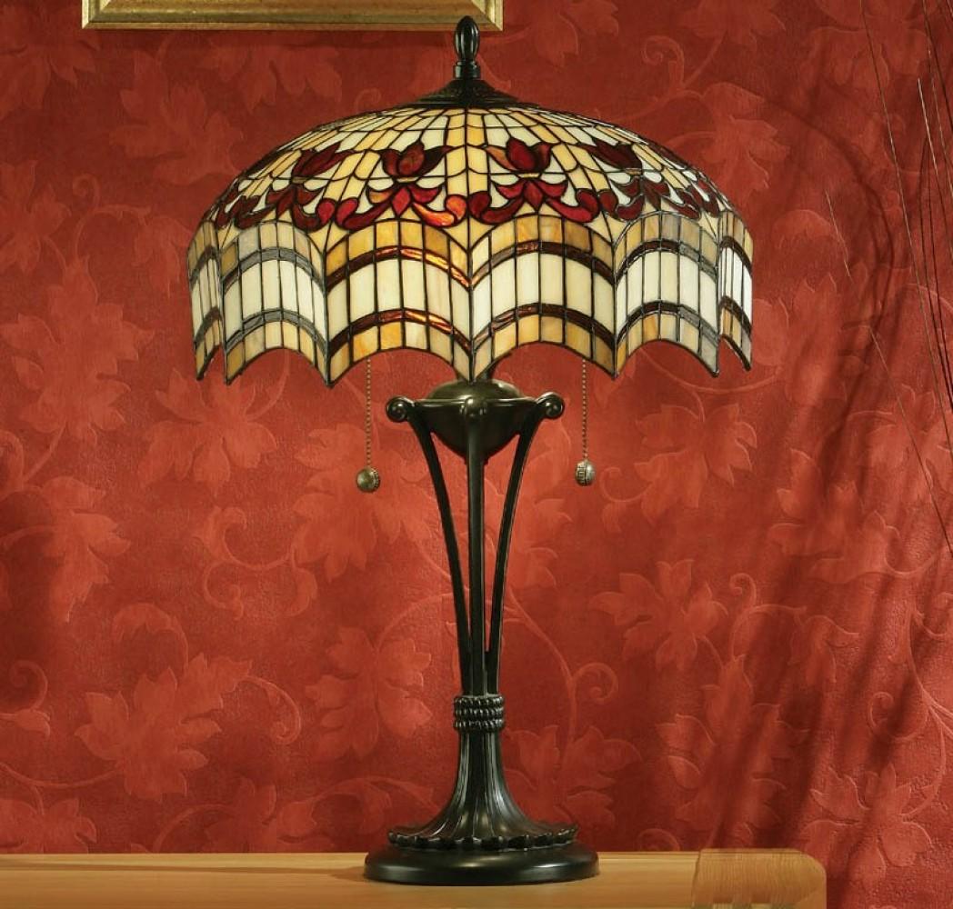 Lampe tiffany vesta d couvrez interiors 1900 for Abat jour salle de bain