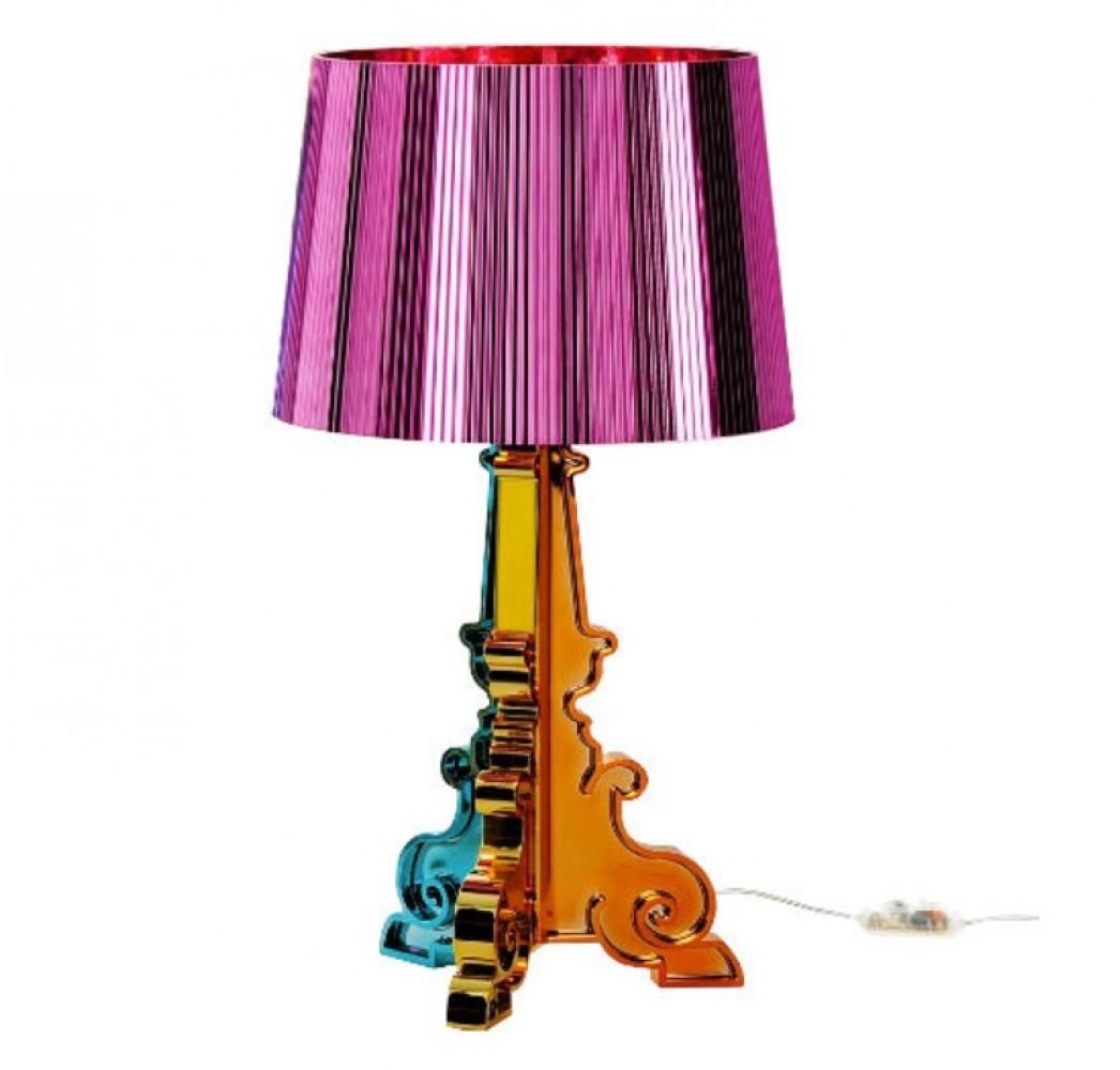 Bourgie lampe fuschia - Kartell