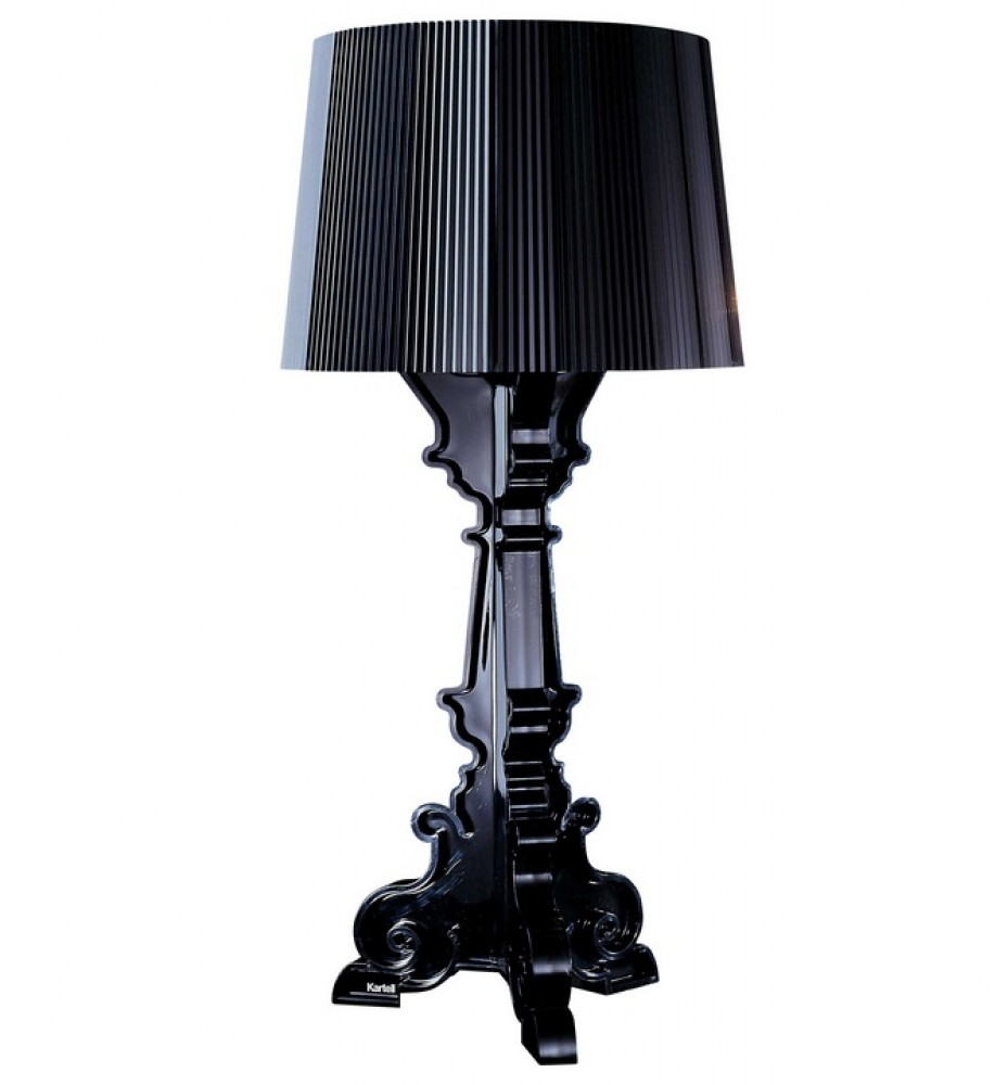 bourgie lampe noire kartell d couvrez kartell jeancel luminaires. Black Bedroom Furniture Sets. Home Design Ideas