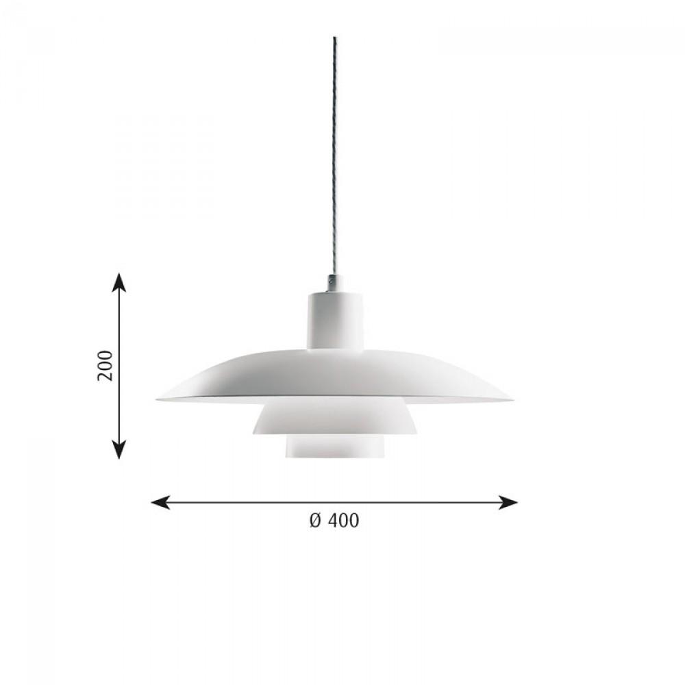 ph 4 3 suspension louis poulsen d couvrez luminaires d 39 int rieur jeancel luminaires. Black Bedroom Furniture Sets. Home Design Ideas