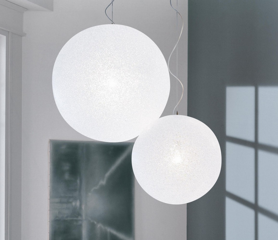 Suspension ice globe 30 lumen center d couvrez for Globe luminaire interieur