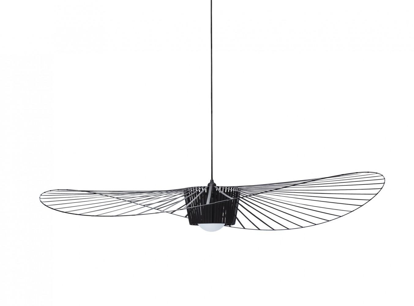 vertigo suspension noire d couvrez petite friture jeancel luminaires. Black Bedroom Furniture Sets. Home Design Ideas