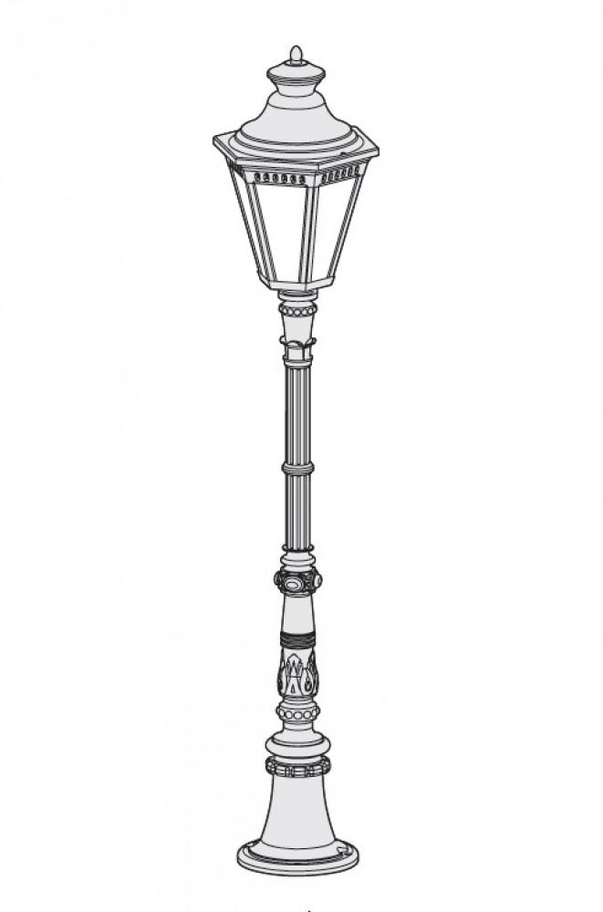 Borne extérieure Victoria H.132 cm