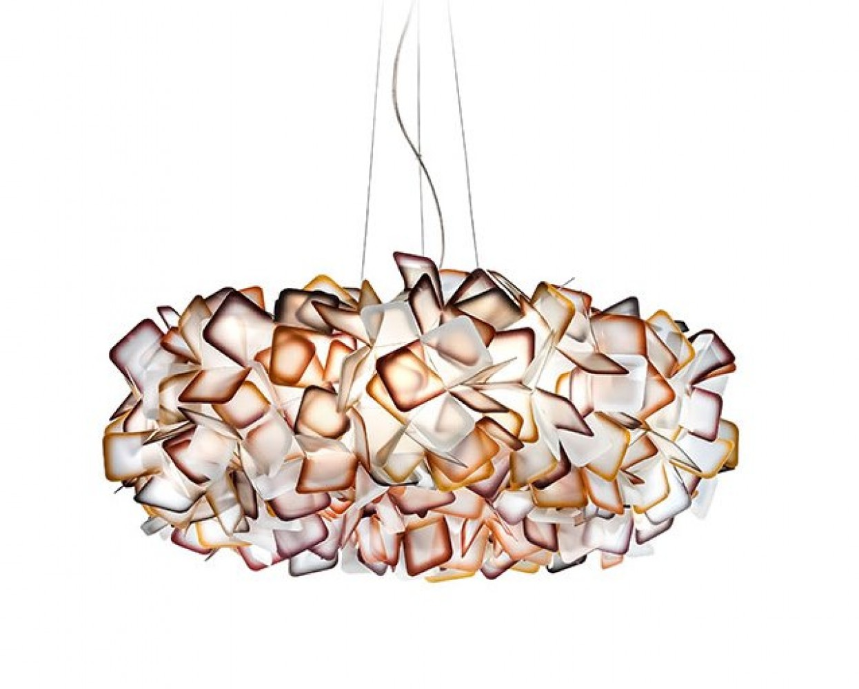 Clizia suspension large orange - Slamp