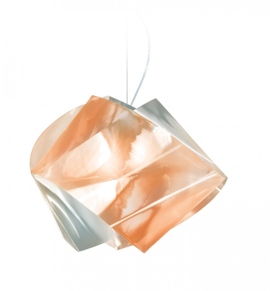 Gemmy suspension prisma ambre - Slamp