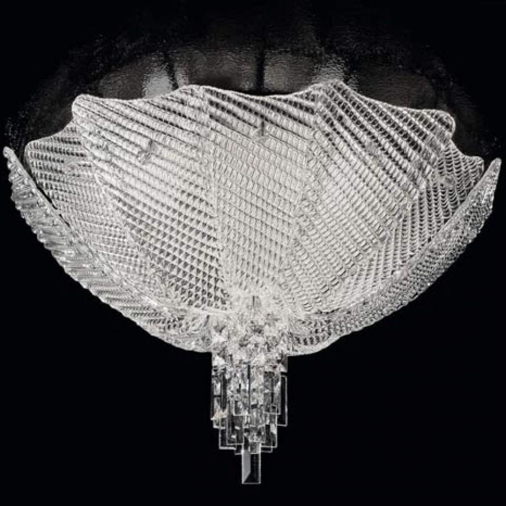 Plafonnier Verre de Murano Palace Crystal ∅62