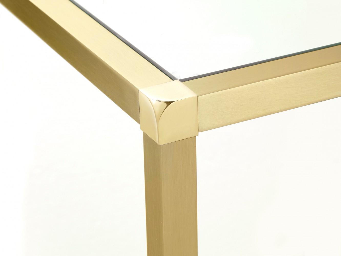 console laiton satin 80 x 26 x d couvrez mobiliers miroirs jeancel luminaires. Black Bedroom Furniture Sets. Home Design Ideas