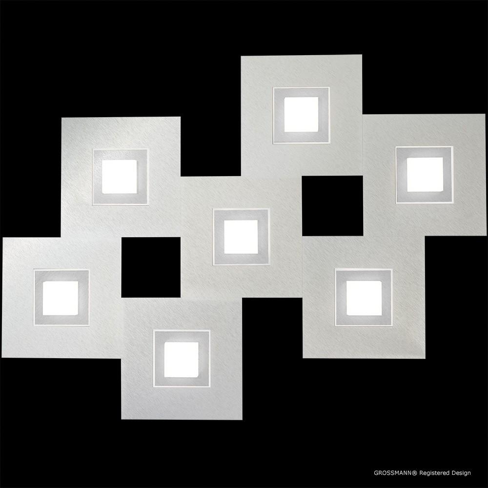 Applique / Plafonnier Karree 7 x LED Nacré - Titan