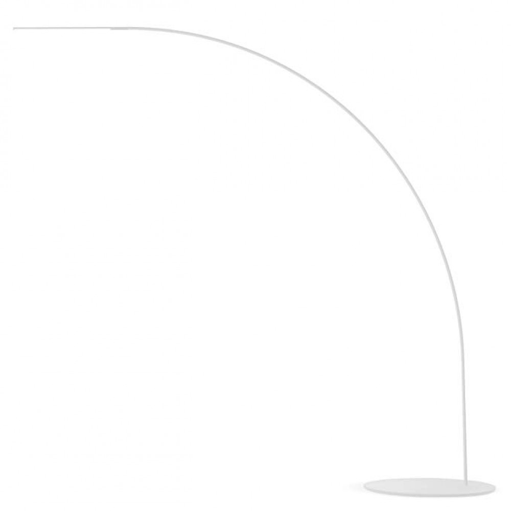 Lampadaire Led Yumi -Fontana Arte - Blanc