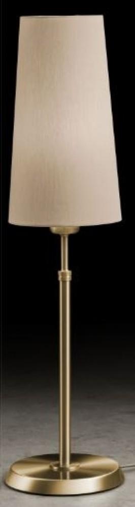 Lampe à poser 75W laiton (ABJ D.15 en option)