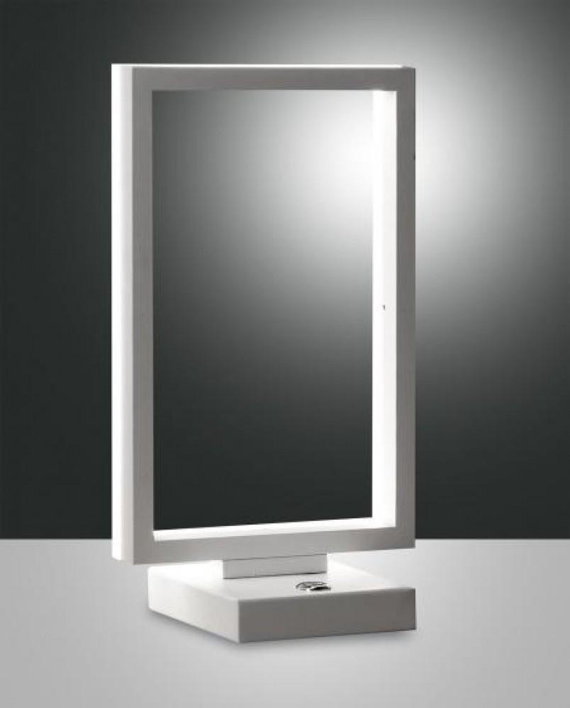 Lampe à poser Led Fabas Luce Bard - Blanc