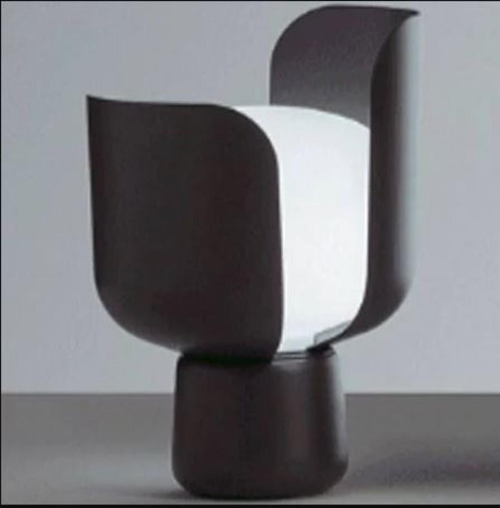 Blom lampe à poser - Fontana Arte - Gris foncé