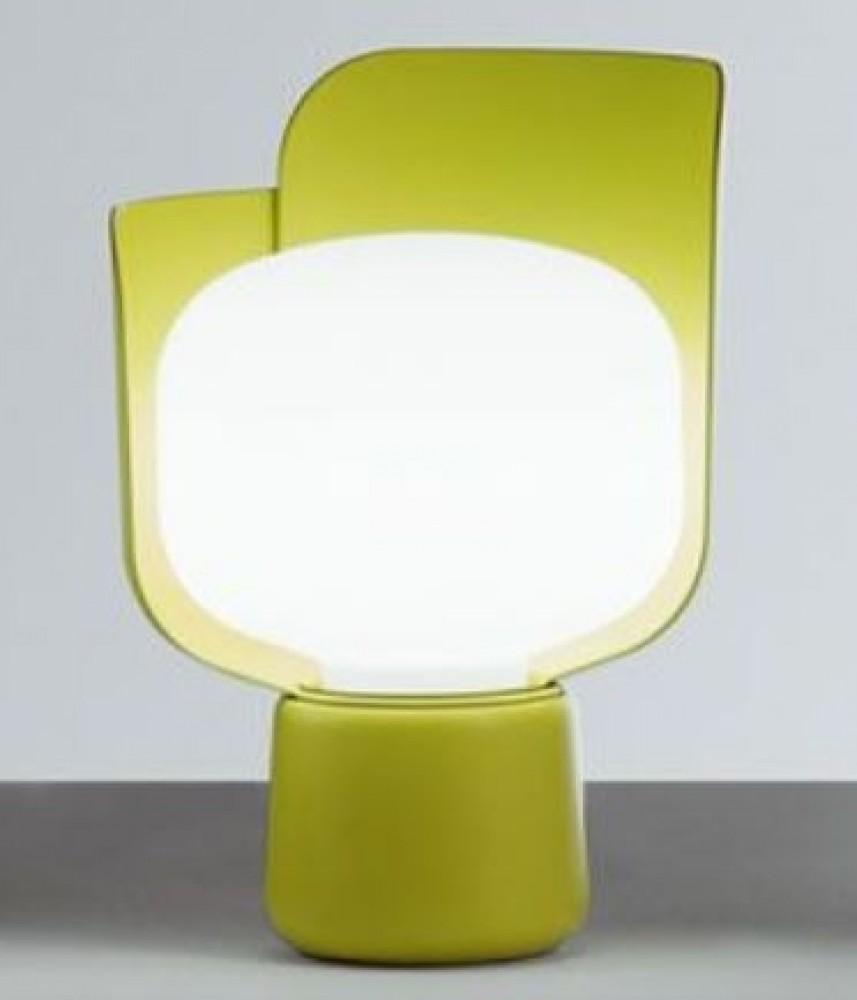 Blom lampe à poser - Fontana Arte - Jaune