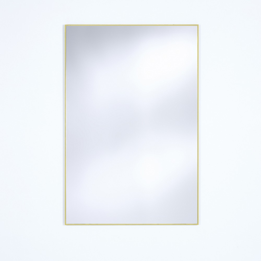 Miroir Lucka doré mat Deknudt Mirrors