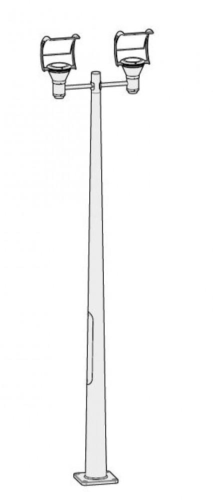 Lampadaire extérieur OL33 H.310