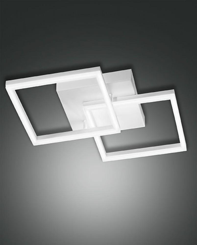 Plafonnier Led Fabas Luce Bard - L.45 Blanc
