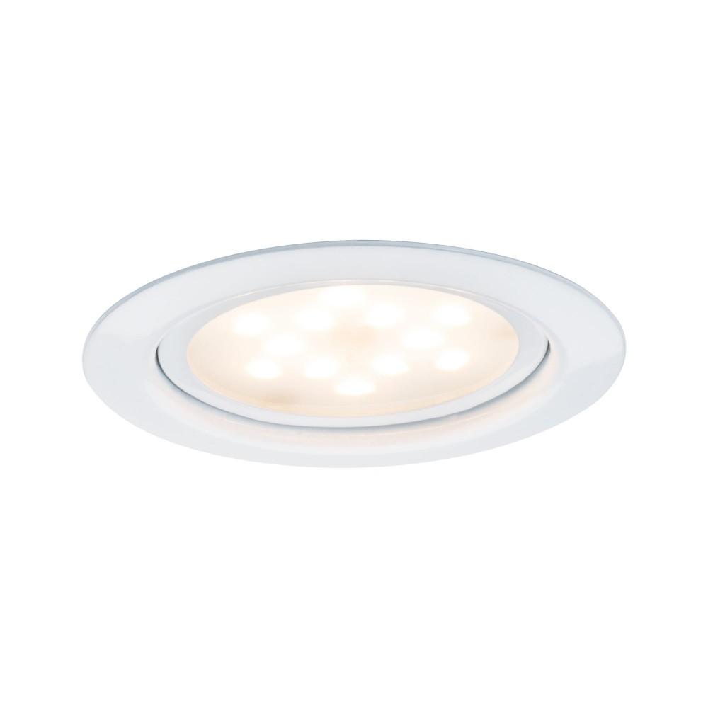 Kit spot encastré meuble Micro Line LED blanc