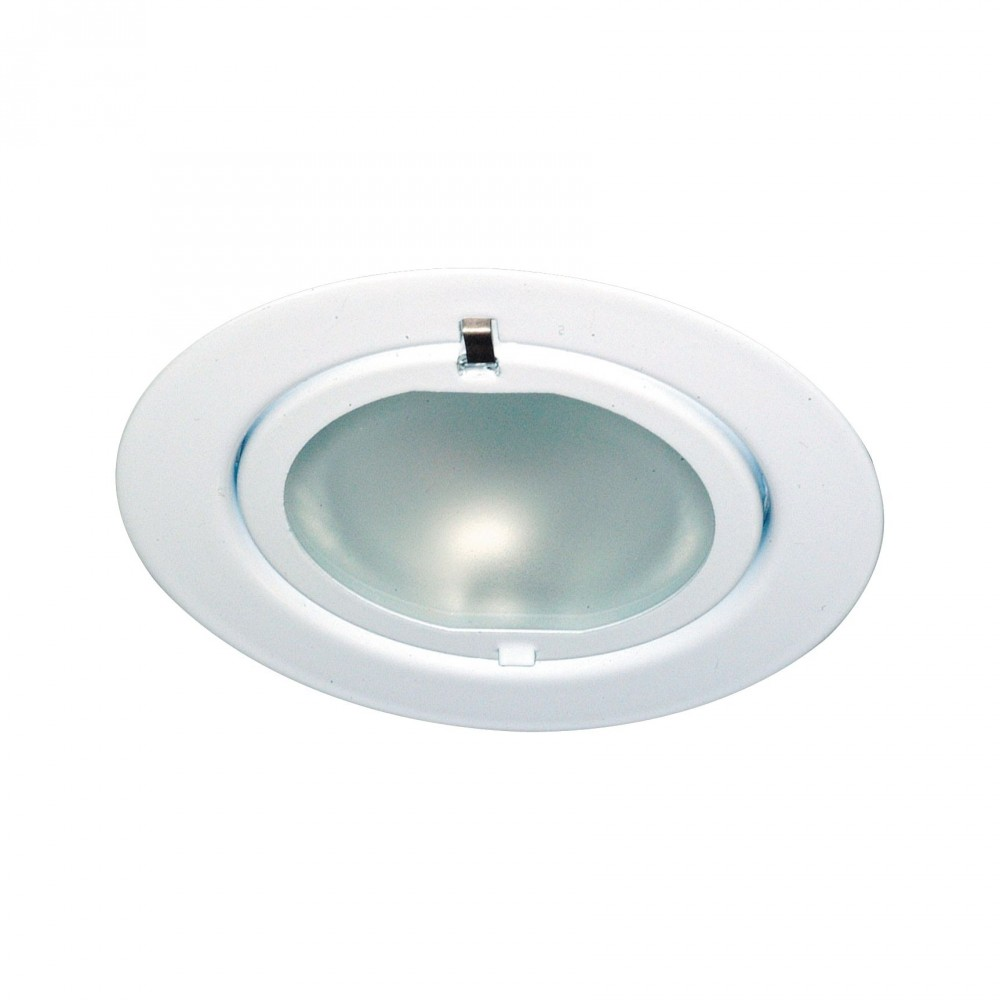Spot encastré meuble Micro Line Klipp Klapp - Blanc max. 20 W/G4