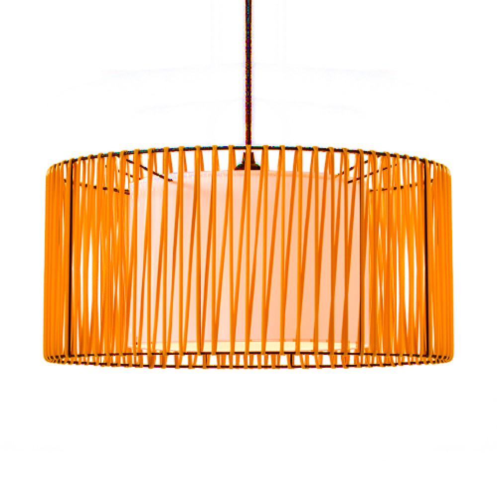 Suspension Zig & Zag orange - Art & Décors