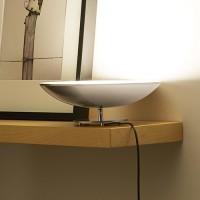 Vasque à poser LED - Nickel