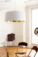 Lanterna D.75 suspension blanc & or