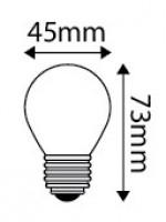 Ampoule LED E27 5W 400lm