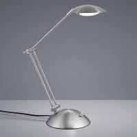 Lampe de bureau LED Calcio nickel