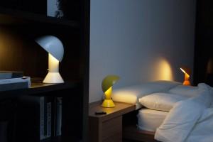 Lampe à poser Elmetto Jaune - Martinelli