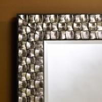 Miroir Almeria Argent 71x98