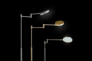 Liseuse LED Plano Doré - 19W - 2000lm